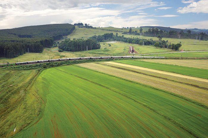 Rovos Rail Kwazulu Natal scenery