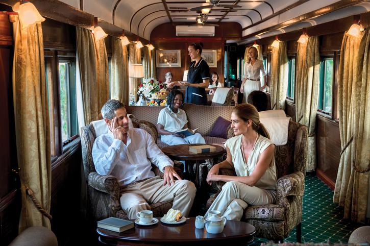 Lounge Car, Rovos Rail