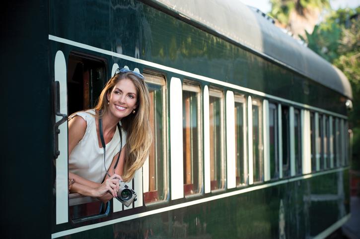 On board Rovos Rail