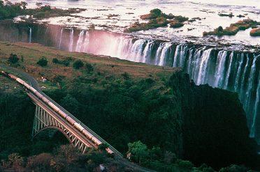 Rovos Over Victoria Falls