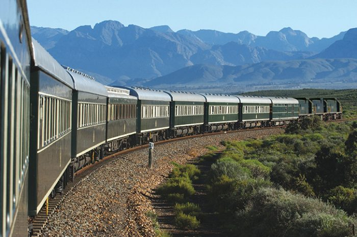 Rovos Rail At Outeniqua Mountains