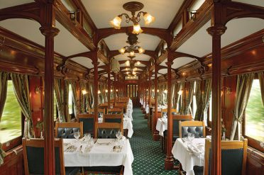 Rovos Rail Dining Room