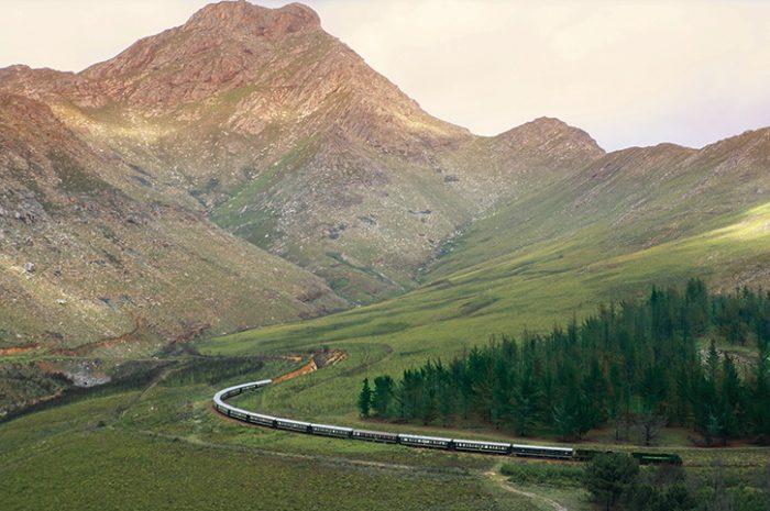Rovos Rail Leaving Oudtshoorn