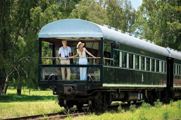 Rovos Rail Observation Car