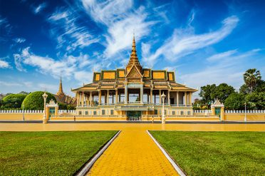 Royal Palace, Phenom Penh, Cambodia