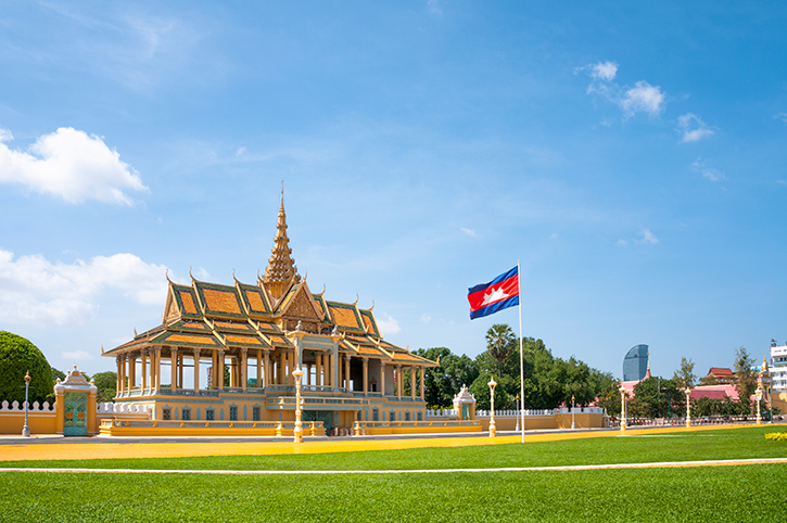 Royal Palace, Pnomh Penh