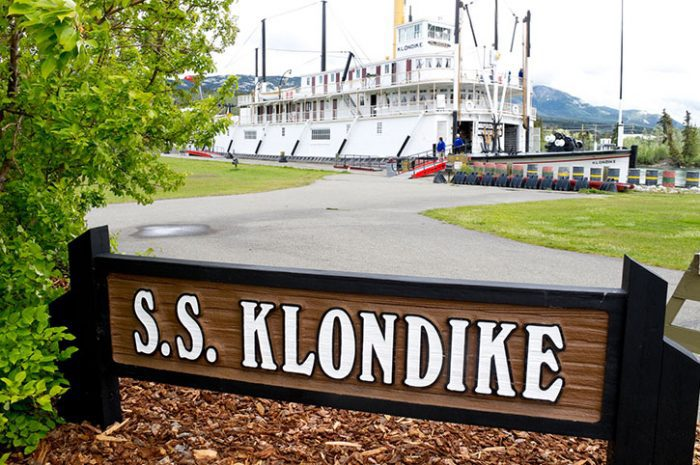 SS Klondike, Canada