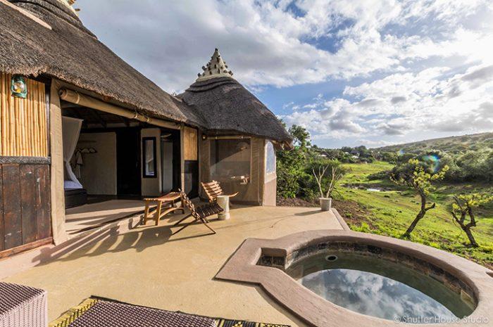 Safari Lodge Private Deck