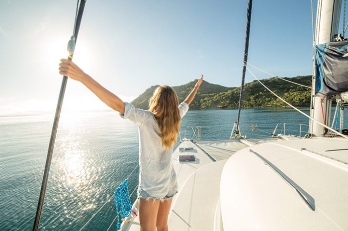 Sailing In The Whitsundays, Queensland