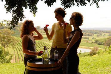 Sampling Wines In Hunter Valley
