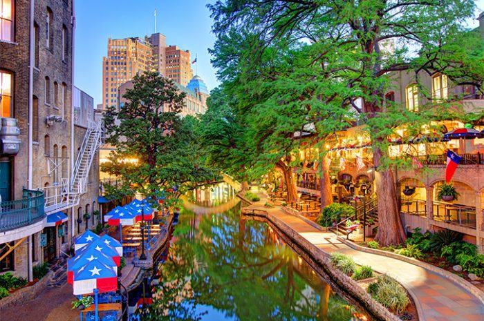 San Antonio River Walk, Texas