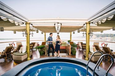 Sanctuary Ananda Cruise Top Deck And Pool