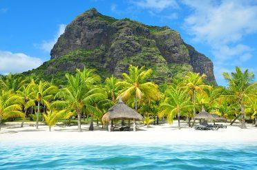 Beach, Mauritius Island