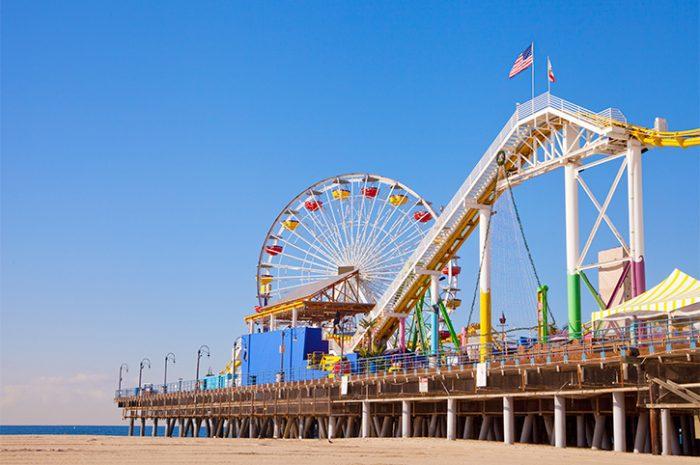 Santa Monica Pier, California