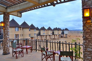 Sarova Salt Lick Lodge Viewing Deck