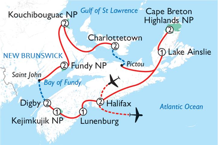 Scenic Maritime Canada