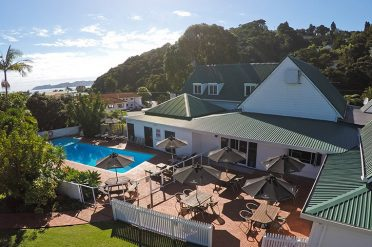 Scenic Hotel Bay of Islands Aerial