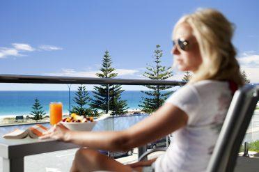 Seashells Scarborough Bedroom Balcony