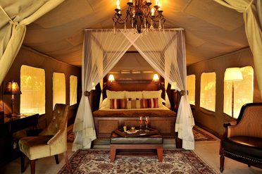 Selous Serena Camp tent