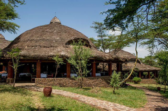 Serena Serengeti main building