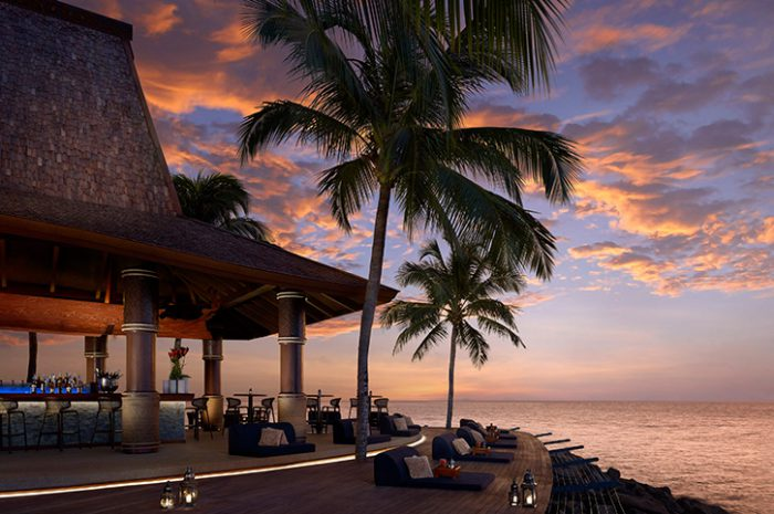 Shangri La Tanjung Aru sunset bar