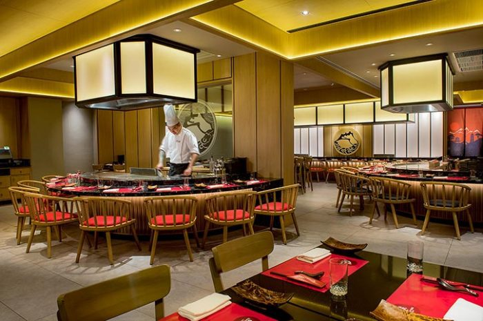 Shangri La Rasa Ria Kozan Teppanyaki Restaurant