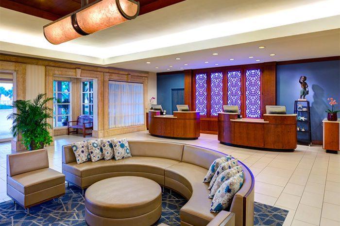 Sheraton Sand Key Hotel Lobby