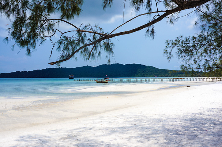 Sihanoukville,Beach,Bridge,Cambodia