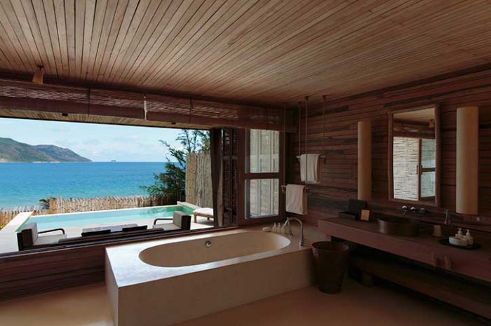 Six Senses Con Dao Pool Villa Bathroom
