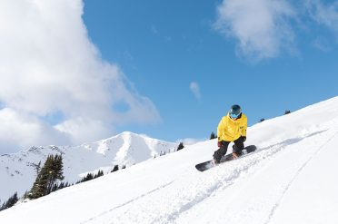 Skiier, Marmot Basin