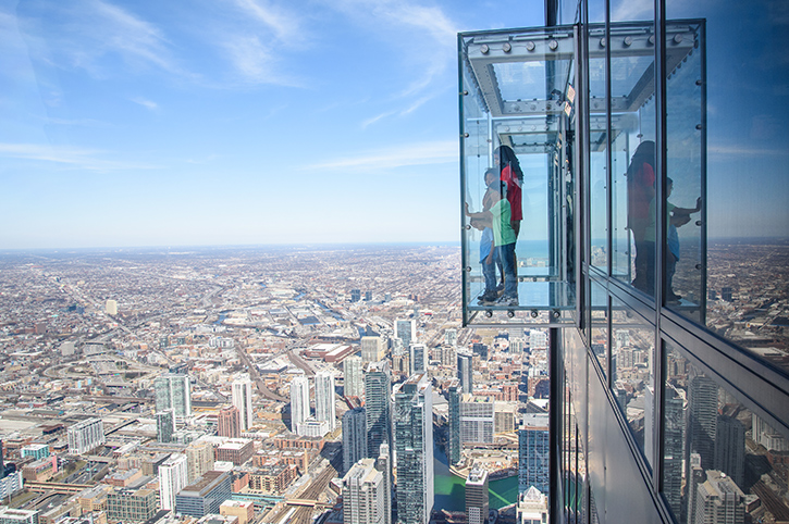 Skydeck, Chicago, USA