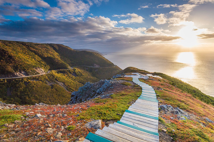 Skyline Trail Cape Breton Island Nova Scotia