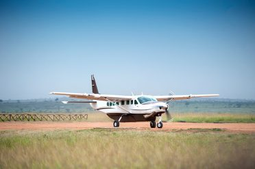 Small plane, Nairobi