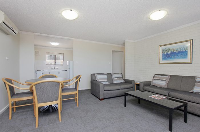 Sorrento Beach Resort Two Bed Living