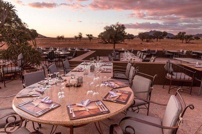 Sossusvlei Lodge Alfresco Dining