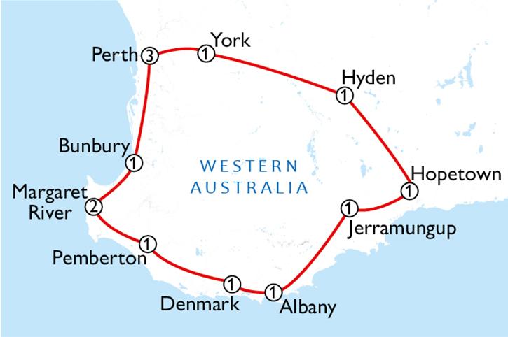 South West Adventure 2Week