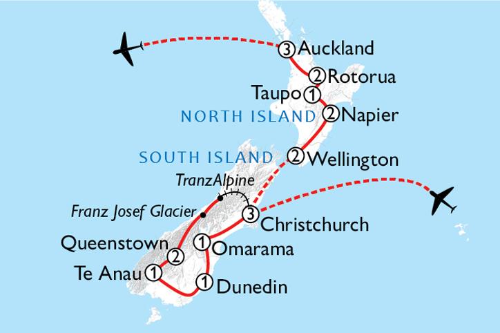Southern Start Map