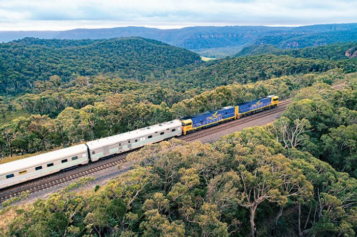 Southern City Rail Explorer Train