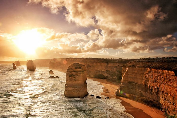 Southern City Rail Escape Twelve Apostles