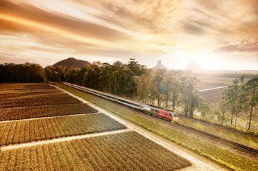 Spirit of Queensland, rail journey, Australia
