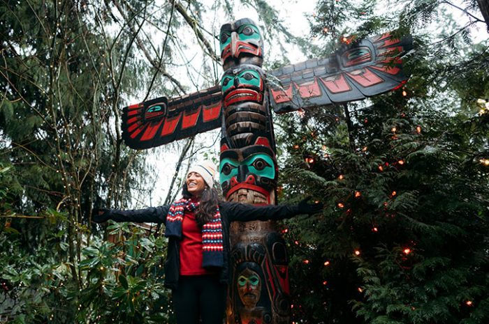 Stanley Park Totem Poles, Canada