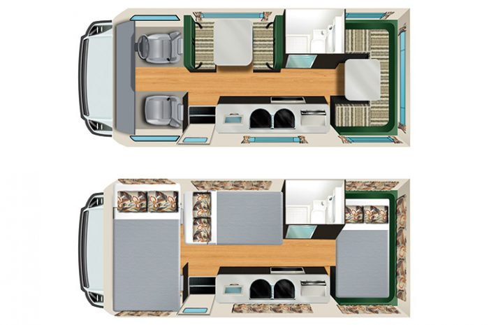 Star RV Hercules Floor Plan
