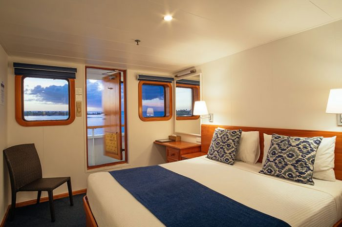 Stateroom Cabin with Outside Deck