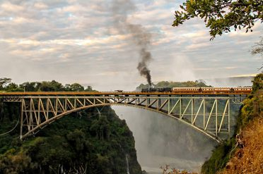 Steam train, Victoria Falls