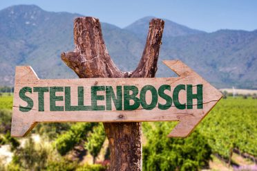 Stellenbosch Sign, South Africa