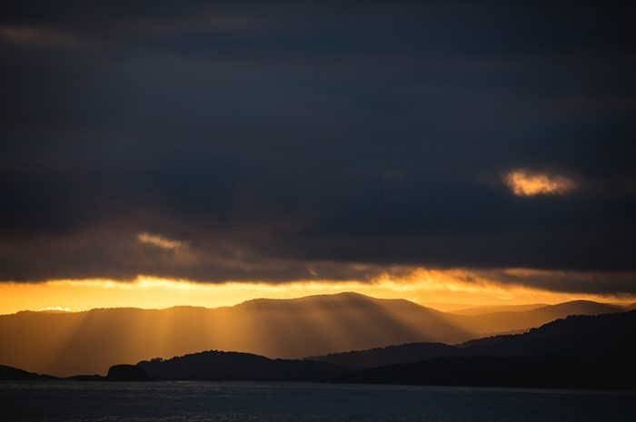Stewart Island Sunset Sky