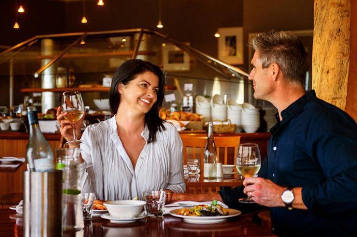 Strahan Village Dining Couple