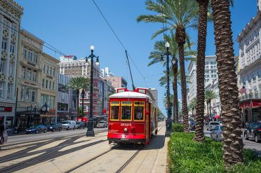 Streetcar, Downtown New Orleans