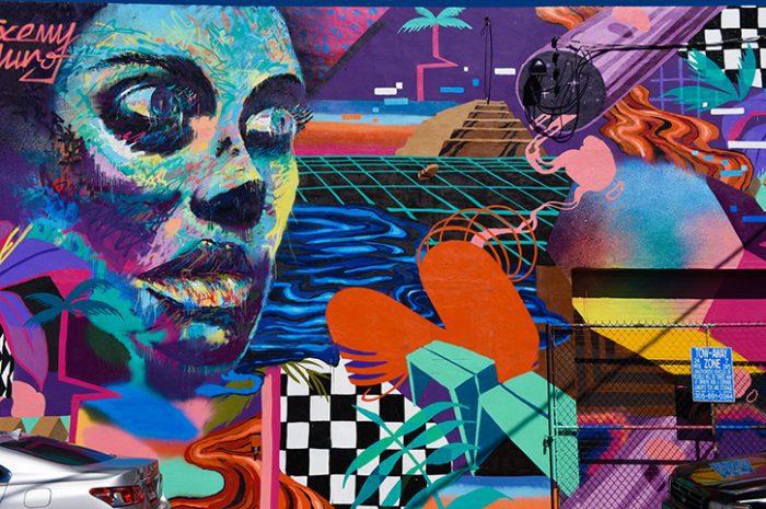 Street Art, Miami, Florida, South USa