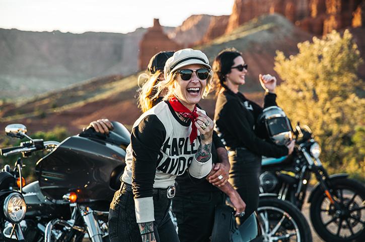 Harley Davidson holiday to Utah